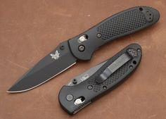 Benchmade Knives: 551BK - Griptilian - Black Blade