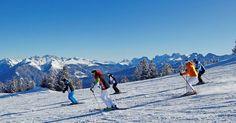 Alpe Cermis, si scia in compagnia. www.visitfiemme.it