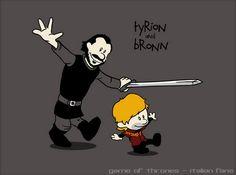 maglietta limited #tyrion #lannister e #bronn