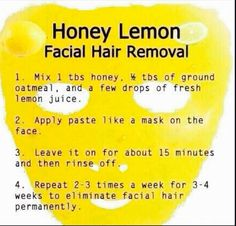 Great treatment for unwanted hair, you can also use this for unwanted hair on other parts of the body!