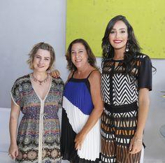 Luciana Dias, Alba Canutto, Paloma Marques