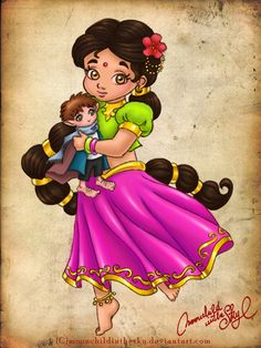 Little Kalini by moonchildinthesky.deviantart.com on @deviantART
