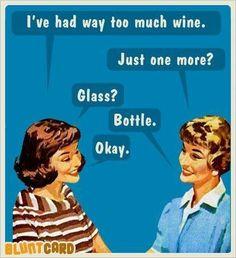 Bottle Vintage Funny Quotes, Vintage Humor, Retro Humor, Retro Funny, Girl Humor, Funny Cards, Blunt Cards, Adult Humor, Barbie Humor