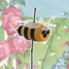 Busy Bee Plant Poke