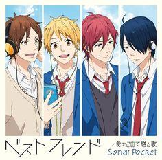 Nijiiro Deizu - Keiichi, Natsuki, Tomoya and Tsuyoshi Anime Romance Comedy, Manga Anime, Anime Art, Anime Boys, Comics Anime, Nijiiro Days, Days Anime, Slice Of Life Anime, Lovely Complex