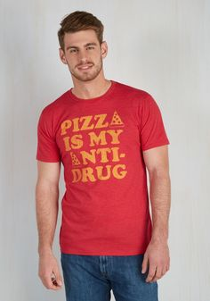 Pie Priority Men's Tee, @ModCloth