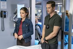 Sophia Bush and Jesse Lee Soffer in Chicago P.D. (2014)