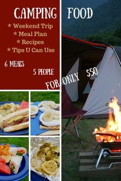 World Camping. Tips, Tricks, And Techniques For The Best Camping Experience. Camping is a great way to bond with family and friends. Camping Meal Planning, Camping Menu, Camping List, Family Camping, Tent Camping, Camping Hacks, Camping Checklist, Camping Essentials, Camping Stuff