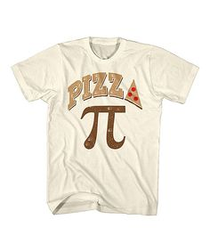Natural 'Pizza Pie' Tee