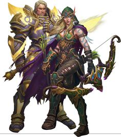 Tirion and Alleria