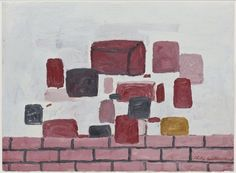 Philip Guston  oil on paper 1971