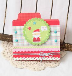 Doodlebug Design Inc Blog: Doodles Card Sketch Featuring Santa's Workshop + Giveaway Day 3