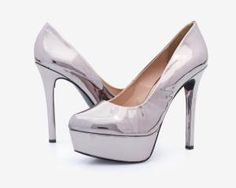 Zapatillas Jennifer Lopez Plateadas