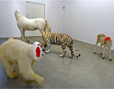 Heads cut. Bugarach, Huang Yong Ping, Kamel Mennour Gallery