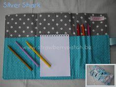 Sharks-themed Notepad Roll