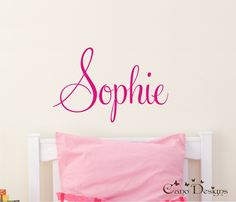 Baby Name Decals For Nursery Nursery Wall Decals Name Monogram - Personalized custom vinyl wall decals for nursery