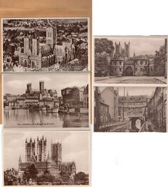 Frith Photobooklet All Best Wishes & Greetings to You from Lincoln 5 views