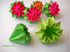 Кусудама Мастер-класс 8 марта Валентинов деÐ … – Origami Community : Explore the best and the most trending origami Ideas and easy origami Tutorial Origami And Quilling, Origami And Kirigami, Paper Crafts Origami, Diy Origami, Origami Tutorial, Origami Ideas, Xmas Crafts, Crafts To Do, Diy Crafts