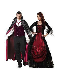 Vampire Couple Costumes #Halloween