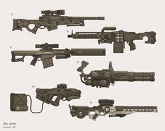 Weapon Variants 1