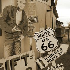 Route 66 by Mike McGlothlen