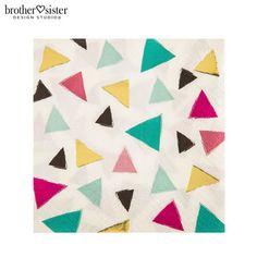 Triangle Confetti Napkins - Small