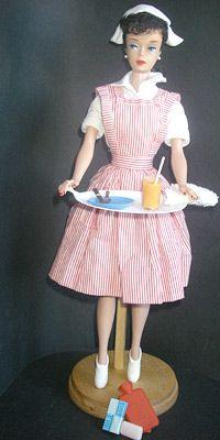 1964 Barbie Candy Striper Fashion