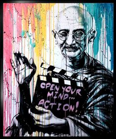 """Open your mind. Marvel Cartoons, Graffiti Cartoons, Murals Street Art, Street Art Graffiti, Boxing Tattoos, Tableau Pop Art, Psychedelic Experience, Salon Art, Grafiti"