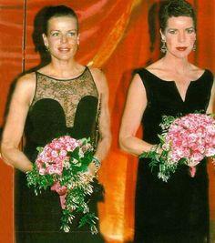 Princess Stéphanie and Princess Caroline of Monaco