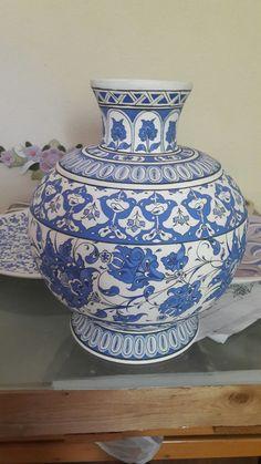 Glazed Tiles, Art Tiles, Pottery Art, Home Decor, Islamic Art, Jars, Glass, Vases, Porcelain Ceramics