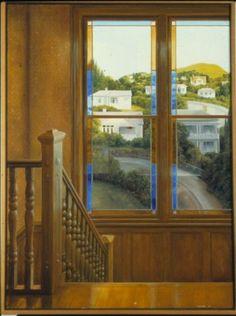 Blue glass; Peter Siddell; 1981