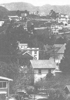 The original Hollywood Hills California History, California Love, Southern California, Vintage Hollywood, Classic Hollywood, Hollywood Scenes, Los Angeles Neighborhoods, Hollywood Homes, City Of Angels