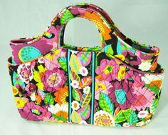 Vera Bradley Totes Handbag VA VA Bloom Pink Flowers Many Pockets #VeraBradley #TotesShoppers