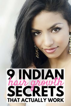 Indian Hair Growth Secrets: Healthy Natural Hair Growth Tips That Work | Want to know how to grow your hair FASTER? While we can't promise it'll happen overnight, in a week, or even in a month, we've got 19 tips to teach you how to grow your hair naturally with things like coconut oil and aloe vera, the right food choices, and hair growth products that actually work. These real beauty remedies are your ticket to long, luscious, thick hair that glows!