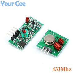 4.99$  Buy here - 5 pair (10 pcs) 433Mhz RF transmitter and receiver link kit for ArduinoARMMCU WL   #magazine