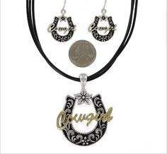 Necklace and earrings sets - https://www.facebook.com/pages/Country-Rose-Glitz-Glam-Western-Store/337353346279262
