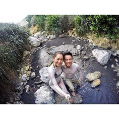 Take a Hot Mud Bath in the Sulphur Springs Volcano in St. Lucia