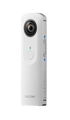 Ricoh launches the Theta camera - bringing fully spherical images in a single shot