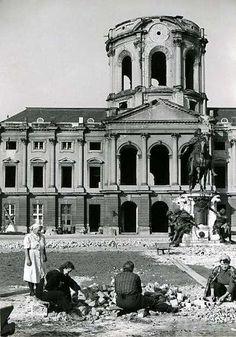 1953 West-Berlin - Schloss Charlottenburg
