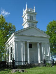White Hills Baptist Church (1839) Connecticut