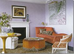 Muted, yet classic. Follows 80/20 rule perfectly. 80% neutral, 20% bright color