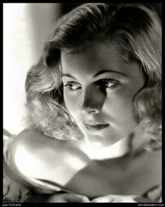 Joan Fontaine. My sister played with her daughter.