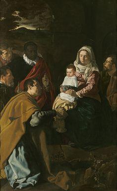 Velázquez - Adoración de los Reyes (Museo del Prado, 1619)
