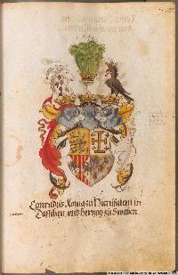 Image 00129 Kaiser Karl, Friedrich Ii, Coat Of Arms, Painting, Image, Art, Wedding Ring, Roman Emperor, Munich Germany