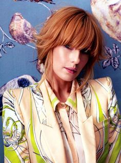 The perfect 'Spring mood' in InStyle UK with this Roberto Cavalli SS 2013 look in Art Nouveau prints! Kelly Riley, Jessica Kelly, Anne Of Avonlea, Cole Hauser, Kelly Rohrbach, Katrina Bowden, Rose Byrne, Cute Hamsters, Beautiful Redhead