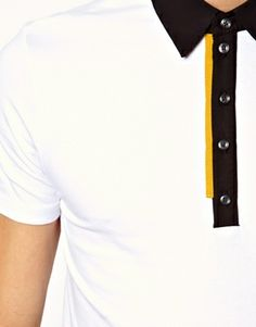 Enlarge Antony Morato Polo Shirt With Contrast Placket