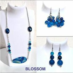Necklace and earrings