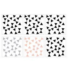 Triangles Wall Stickers for children ǀ minideco.co.uk