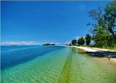 Sumsum McArthur Island.  Morotai - Maluku, Indonesia