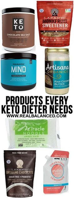 Products Every Keto or Low Sugar Needs Dieter